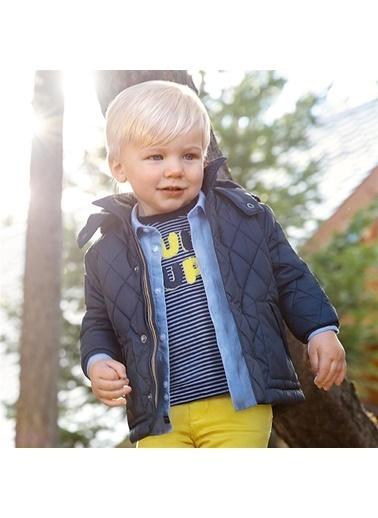Mayoral Mayoral Erkek Bebek Kapütene Mont Lacivert